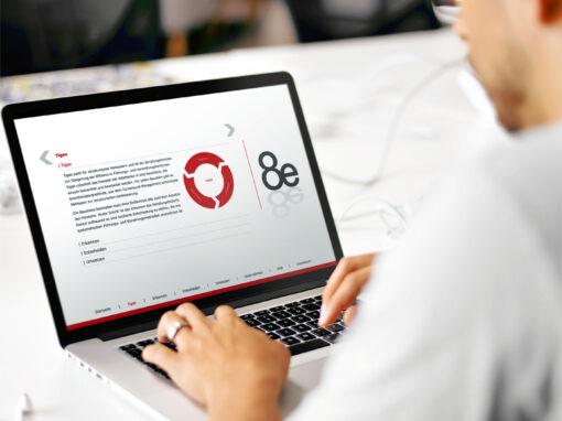 Logo, CD und Webdesign 8e