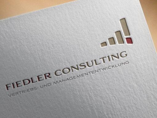 Logoentwicklung für Fiedler Consulting