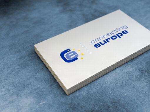 Logoentwicklung connecting europe