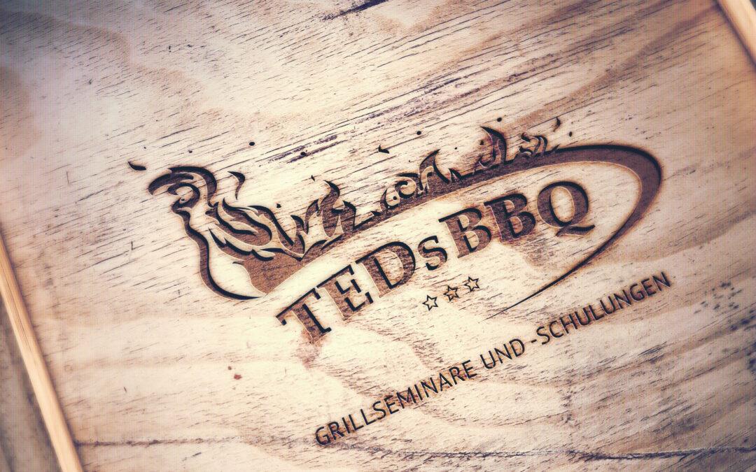 Logo, Webseiten und  für TEDs BBQ