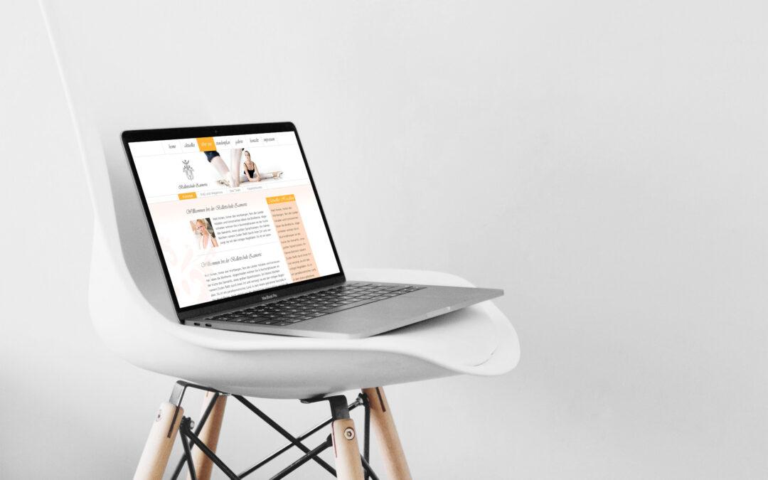 Webdesign und Programmierung für Bonner Ballettschule